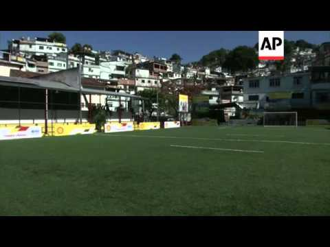A new energy-generating soccer field was inaugurated in Brazil. The field is built on energy-capturi