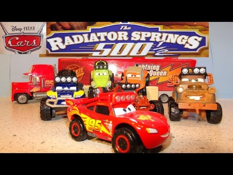 Pixar Cars Radiator Springs