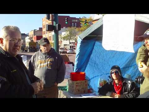 Occupy Colorado Springs Conversation with Police October 10, 2010