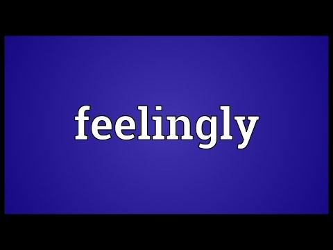 Header of feelingly