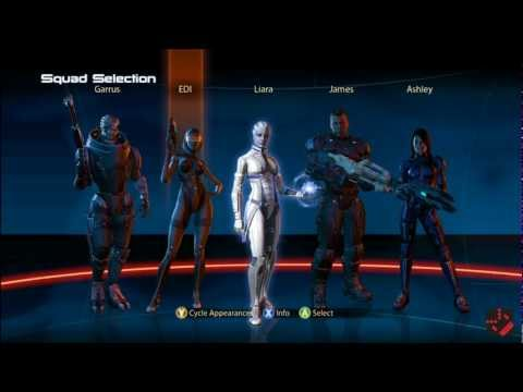 Mass Effect 3 Xbox 360 Review Gameplay Commentary