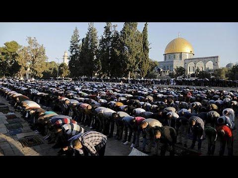 جشن عید فطر و نماز جماعت در بسیاری از کشورهای مسلمان