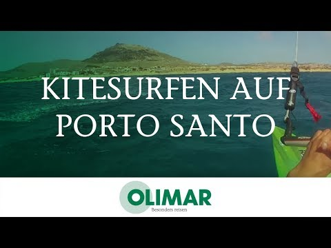 Kitesurfen Im Urlaub Auf Porto Santo | Mit OLIMAR Reisen