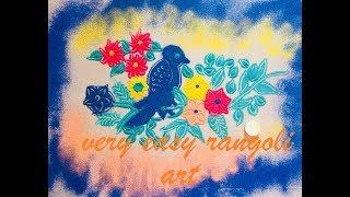 Rangoli art   easy n simple