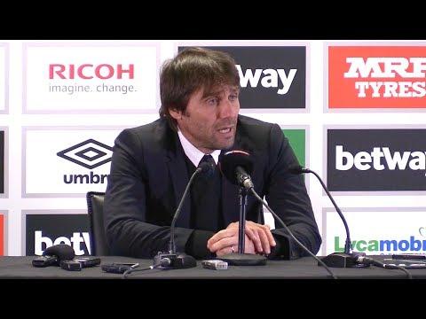 West Ham 1-0 Chelsea - Antonio Conte Post Match Press Conference - Premier League #WHUCHE