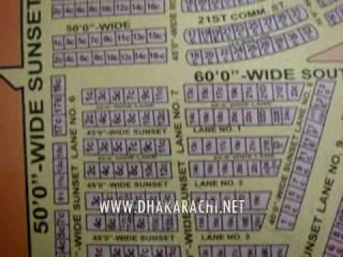 GUIDE MAP, PHASE 2 EXT, DHA, KARACHI, PAKISTAN PROPERTY REALESTATE.wmv