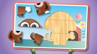 Animated Puzzle For Kids - Nursery Rhymes - Baby Songs - Puzzle Games For Kids