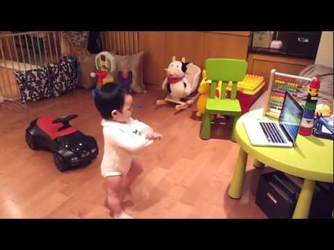 Baby Dancing To Gangnam Style video