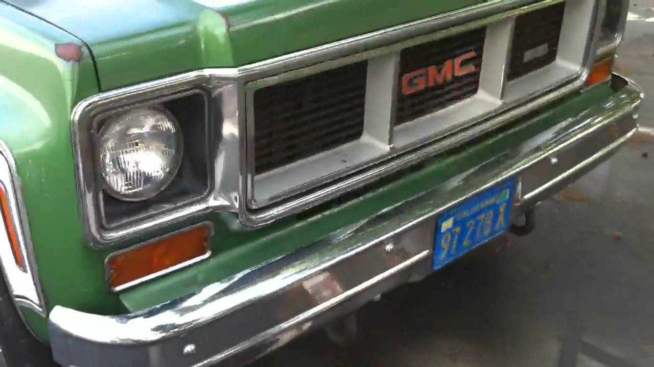 Gmc Truck For Sale >> 1974 GMC SIERRA 2500 Camper Special - YouTube