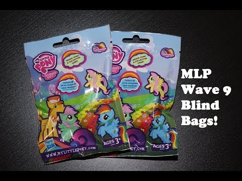 My Little Pony - Wave 9 Rainbow Collection Blind Bags - Opening/Review!
