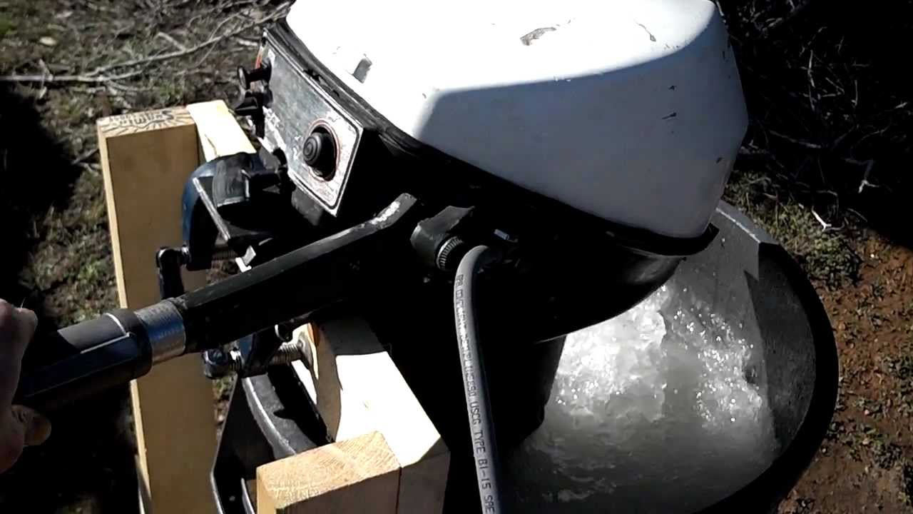 1973 9r71r Johnson 9 5hp Outboard Youtube