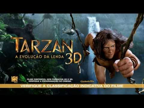 Tarzan 3d: A Evolução Da Lenda - Trailer Oficial video