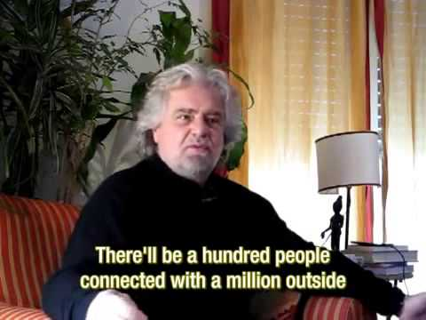 Beppe Grillo Interview_Italian with English subs