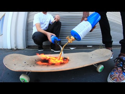 WILL THE SKATEBOARD BREAK? TORCH EDITION