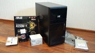 Сборка бюджетного компьютера за 9000 рублей для работы и игр