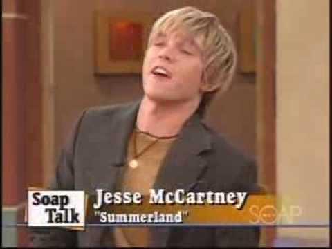 Jesse McCartney Interview (Summerland)