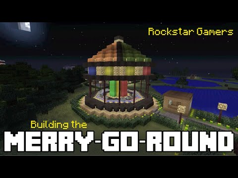 Minecraft building the merry go round youtube for What is needed to build a house