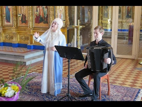 Пасхальный концерт певицы Евгении Савинкиной ибаяниста Артема Крикливого