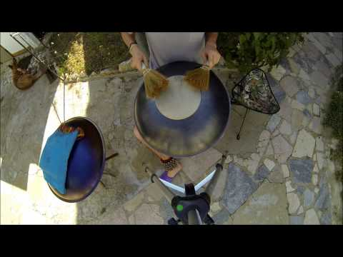 GuSkin - percussion adptation for Hang / Handpan / Pantam