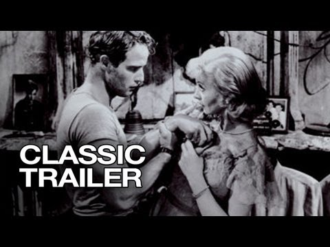 A Streetcar Named Desire Official Trailer - Marlon Brando Movie (1951)
