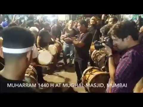 Muharram 1440 hijri at Mughal Masjid, Mumbai, India