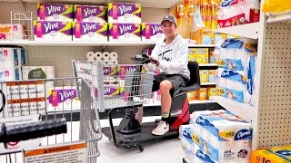 DRAG RACING IN SUPER STORES!