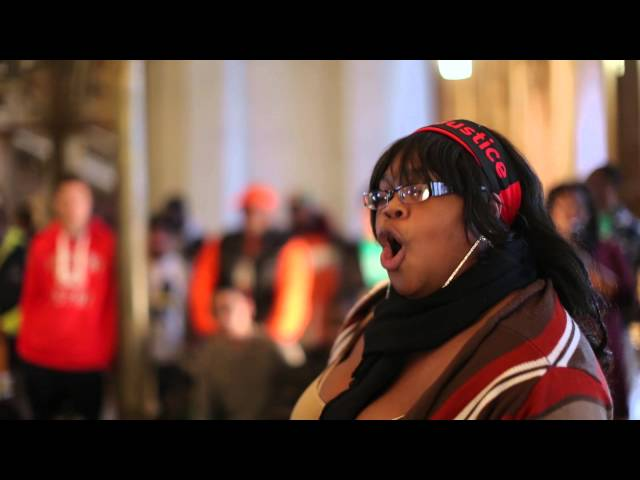Jan. 14, 2014: Shantera Randle from Rochester speaks out!