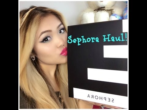 Sephora Haul!!! (unboxing) Dior, YSL, Nars, Marc Jacob etc
