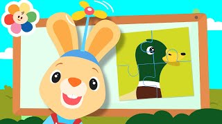 Baby Learning Games with Harry The Bunny & GooGoo | Learn Numbers & Animals with Fun Games for Kids