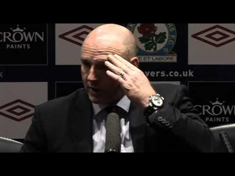 Steve Kean post City defeat   Premiership - Man City 1-0 Blackburn 25-04-11