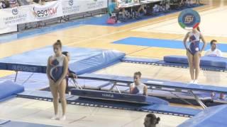 Pesaro - Campionati Italiani Assoluti Trampolino Elastico 2014