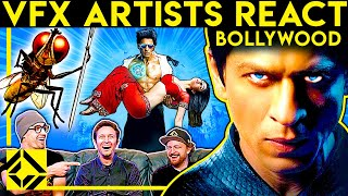 VFX Artists React to BOLLYWOOD Bad & Great CGi 3