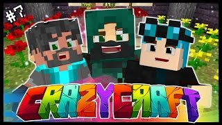 TROLLED BY WEEPING ANGELS! | Ep 7 | Minecraft Crazy Craft 3.0