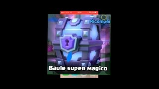 CHEST OPENING APERTURA BAULE SUPER MAGICO clash royale