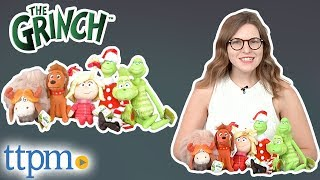The Grinch Movie Plush Figures from Just Play