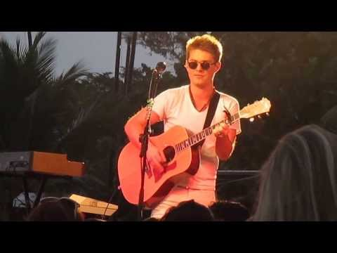 Taylor Hanson - Be My Own - Negril, Jamaica 1/11/14