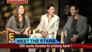 SRK, Kareena and Arjun - We Are Family Interview