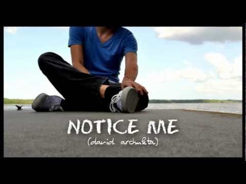 David Archuleta - Notice Me