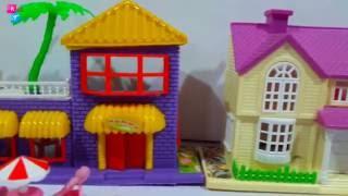 Mainan Rumah Rumahan Barbie  👼 Happy Warm Dream House 💖 Mainan Anak Perempuan