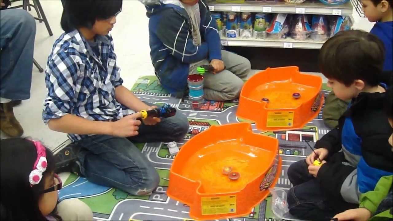 Toys R Su : Beyblade metal fusion tournament toysrus canada april