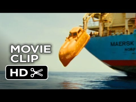 Captain Phillips Movie CLIP - Lifeboat (2013) - Paul Greengrass Movie HD