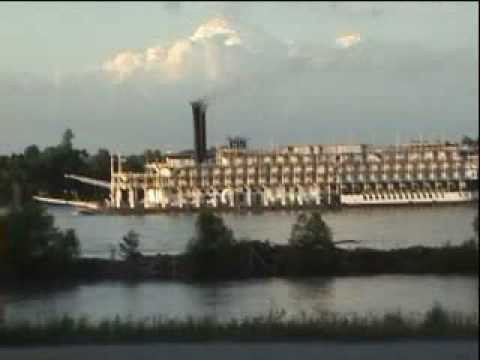 Mississippi Paddle Wheel Boat