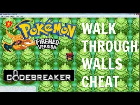 gameshark code for pokemon fire red version: