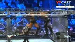 WWE SMACKDOWN 30/8/11 Randy Orton vs Christian World Heavyweight Championship Steel Cage 2/2
