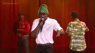 Tyler, The Creator Video - Tyler, The Creator - Rusty | Live On Letterman [April 2013]