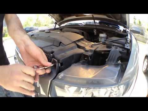 How To Install Replace HID Headlights: 07-13 Chevy Silverado Suburban Tahoe