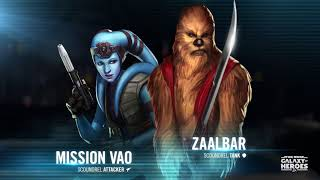 Star Wars: Galaxy of Heroes - Mission Vao and Zaalbar now available (from KOTOR)