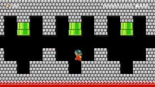Super Mario Maker - Bowser's Castle of Contempt *Checkpoint* 60fps