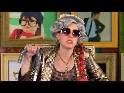 Meet Pebble the Hipster Grandma from AMERICAN HIPSTER! - SPECIAL PROGRAMMING