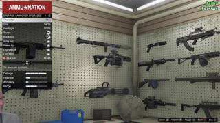 BUYING THE COMPACT GRENADE LAUNCHER: GTA V ONLINE